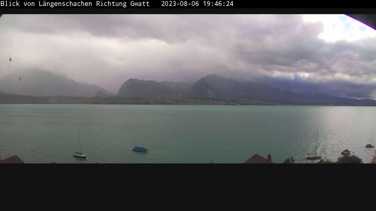 Thunersee - von Längenschachen Richtung Gwatt